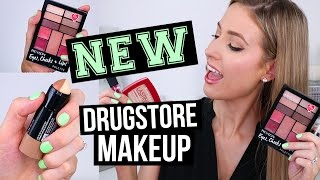 Download NEW MAKEUP at the DRUGSTORE || Haul, Swatches & First Impressions! Video