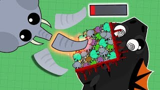 Download HACKER ELEPHANT DESTROYING ALL ANIMALS IN MOPE.IO! ELEPHANT KILLING ALL DRAGONS! (Mope.io) Video