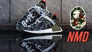 Download The Best Custom Bape Human Race NMDs - Customs with Vick Video