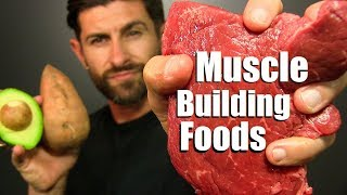 Download 10 BEST Foods To Add MUSCLE Mass FAST! Video