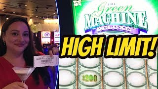 Download HIGH LIMIT-GREEN MACHINE DELUXE WITH CLAUDIA Video