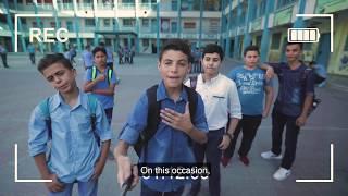 Download Karim's Message to UNRWA Students Video
