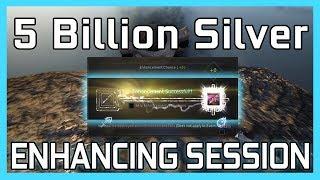 Download BDO - Enhancing 5 Billion worth of accessories - Black Desert Online Video