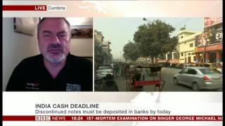Download India cash crisis on BBC News Video