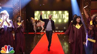 Download Will Smith's Awesome Tonight Show Entrance Video