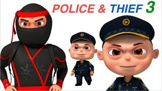 Download Zool Babies Police And Thief | Part 3 | Cartoon Animation For Children | Videogyan Kids Shows Video