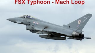 Download FSX - Planning and Executing a Fast Jet Low Level Flight - Mach Loop Video