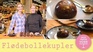 Download FLØDEBOLLEKUPLER med Anne au Chocolat I Annemettes Bageskole Video