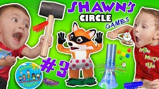 Download SHAWN'S CIRCLE #3: GIANT KERPLUNK GAME + Pop Goes the Weasel w/ Hexbug Toys + MORE (DOH MUCH FUN) Video