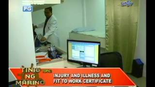 Download Fit to work certificate for seafarers Video