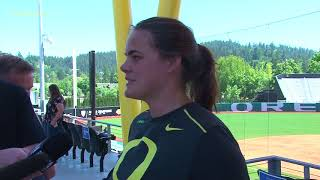Download Gwen Svekis Ahead of Super Regionals Video