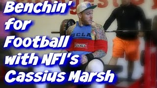 Download How To BENCH PRESS for Football Featuring Seatttle Seahawk's Cassius Marsh Video