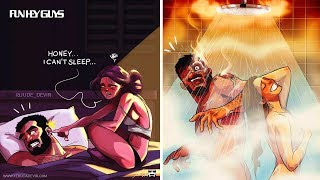 Download Artist Illustrates Everyday Life With His Wife「Cute Comics Compilations」 Video