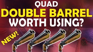 Download QUAD DOUBLE BARREL SHOTGUN | IS IT WORTH USING? - (Fortnite Battle Royale) Video