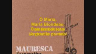 Download MAURESCA (Cooperativa) Maria Blondeau. Video
