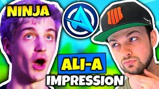 Download NINJA DOES ALI-A IMPRESSION | Fortnite Daily Funny Moments Ep.78 Video
