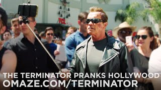 Download Arnold Pranks Fans as the Terminator...for Charity Video