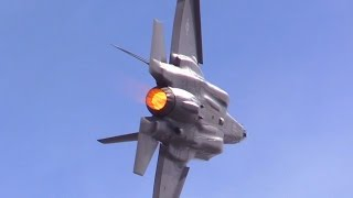 Download F-35A Lightning II 2017 Planes of Fame Air Show Video