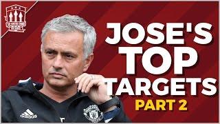 Download Jose Mourinho's TOP SECRET Man Utd Transfer Targets | PART 2 Video