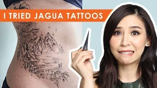 Download I Tried Jagua Tattoos - Tina Tries It Video