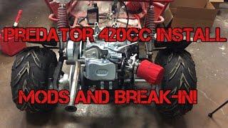 Download Kart-It: GoPowerSports OffRoad GoKart 420cc Predator Engine Install and Break In! Video