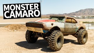 Download Insane 650HP LS Powered Monster Truck Chevy Camaro Build Video