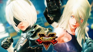 Download Street Fighter 5 - 2B vs A2 (NieR:Automata) Gameplay PC Mod @ 1080p (60ᶠᵖˢ) HD ✔ Video