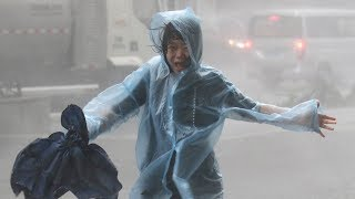 Download Typhoon Mangkhut barrels into south China after killing dozens in Philippines Video