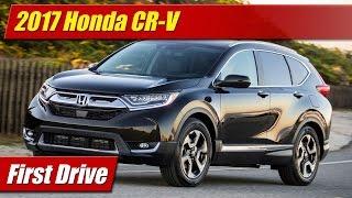 Download 2017 Honda CR-V: First Drive Video