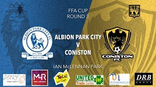 Download 2019 FFA Cup - Albion Park City FC v Coniston FC Video