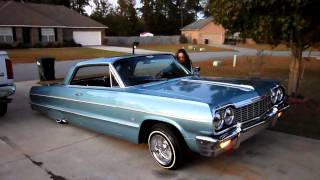 Download 1964 impala with my lady hitting the switches Video