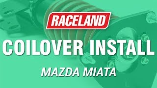 Download How To Install Raceland Mazda Miata MX-5 Coilovers Video