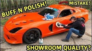 Download Rebuilding A Wrecked 2014 Dodge Viper TA ″TIME ATTACK″ PART 17 Video