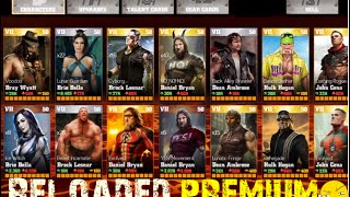 Download WWE Immortals:Reloaded Premium wbid,All Characters,Coins,Energy IOS/Android Video