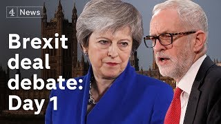 Download Brexit deal debate LIVE: Day 1 Video