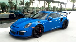 Download 2016 Voodoo Blue Porsche 911 GT3 RS 500hp Paint to Sample @ Porsche West Broward Video