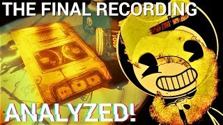Download Linda's identity finally REVEALED?! (Bendy Chapter 5 Audio Teaser 3 Analyzed) Video