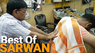 Download Best ever Head massage with neck cracking by Indian barber Sarwan( ASMR videos) Video