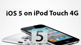 Download iOS 5 on iPod Touch 4g Video