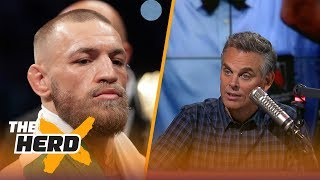 Download Conor McGregor gives explanation for why he lost - Colin isn't buying it | THE HERD Video