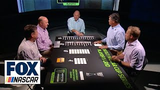 Download War Room Part One: Picking twelve drivers that go to round two of the playoffs | NASCAR RACE HUB Video