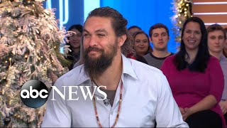 Download 'Aquaman' star Jason Momoa shares secrets from behind the scenes Video