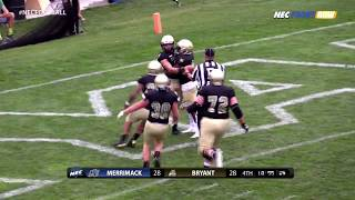 Download The Tale of Two Halves: Football vs. Merrimack Highlights Video