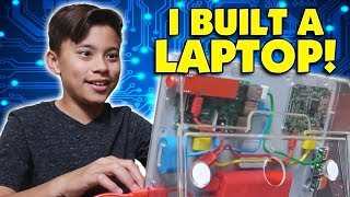 Download DIY LAPTOP!!! Evan Builds His First Computer! Hack Minecraft! Coding with Kano! Video