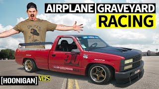 Download 797hp Dodge Challenger Hellcat Redeye, Racing in an Airplane Graveyard Video