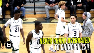 Download Chino Hills Turn OVERRATED Chants Into 34 Point Win In 1st Playoff Game!! Full Highlights Video