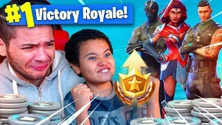 Download 1 KILL = 1 BATTLE PASS SKIN FOR MY 9 YEAR OLD BROTHER! 9 YEAR OLD PLAYS SOLO FORTNITE BATTLE ROYALE! Video