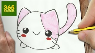 Download COMO DIBUJAR GATO KAWAII PASO A PASO - Dibujos kawaii faciles - How to draw a CAT Video