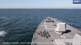 Download BAE Systems 5-inch Mk 45 main gun for Type 26 Frigate - SAS 2016 Video