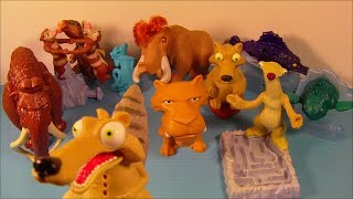 Download 2005 ICE AGE 2 THE MELTDOWN SET OF 10 BURGER KING KID'S MOVIE TOY'S VIDEO REVIEW Video